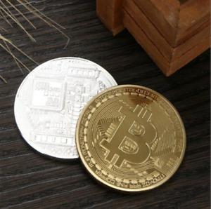 Funny Bitcoin Collectible BTC Coin Pirate Treasure Coins Props Toys For Hallowee