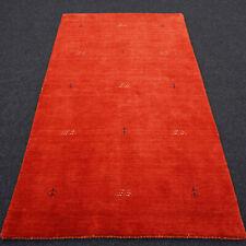 Orient Teppich Indo Gabbeh 161 x 92 cm Modern Handgeknüpft Red Carpet Rug Tapis
