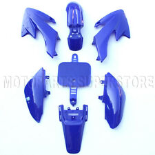 Blue Plastic Kit Honda CRF XR XR50 CRF50 50cc 110cc 125cc Dirt Pit Bike