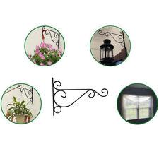 Iron Metal Wall Hanging Bracket indoor for lanterns baskets Plant Hanger #E4