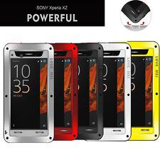 SONY Xperia XZ Case Love Mei Shock Proof Aluminum Metal Case For Xperia XZ