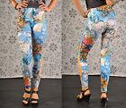 Legging Tatouage Jeans Imprimé Sexy Neuf Treggins Leggings, Taille 34,36,38