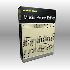 Music Score Editor Writer Writing Theory Notation Software Program