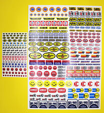 RC Vintage Retro style Decals stickers Driver & Helmet logos BAJA Sand Scorcher