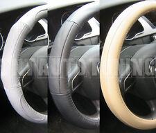 Leather Steering Wheel Cover Black Beige Grey Renault R 5 R5 Turbo Clio Megane