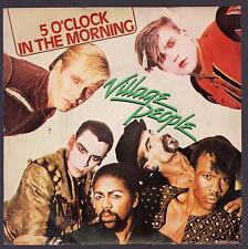 VILLAGE PEOPLE DISCO 45 GIRI 5 O' CLOCK IN THE MORNING
