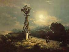 Windberg Moonglow Sand Dunes Woodland Yesteryear Set of 4 Art Prints Signed