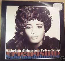 "Sabrina Johnston amistad ~ ~ 12"" de un PS"