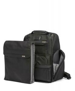 New Tumi Alpha 3 Compact Laptop Business Brief Pack Backpack Black