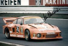 Manfred Schurti (LIE) 24 Std von Le Mans  PORSCHE original signiert/signed !!!