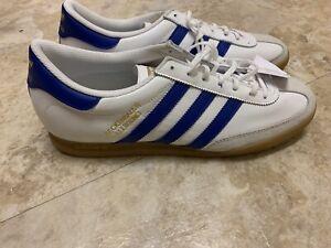 Adidas Beckenbauer Originals White/Royal Blue/Gum FY1390 Mens Size 11 Brand New