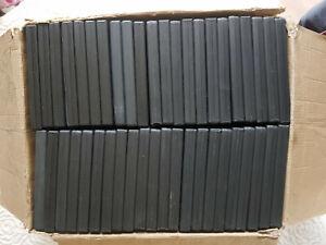 Carton de boitiers NEUFS pour DVD et CD : 30 simples et 15 doubles, dos de 14 mm