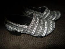Brand New Womens Black & Gray Born Nadiyya Casual Shoes, Size 6 M