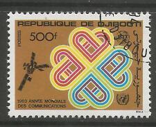 DJIBOUTI. 1983. World Communications Year Commemorative. SG: 883. Fine Used CTO.