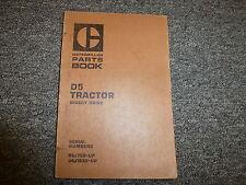 Caterpillar Cat D5 Direct Drive Crawler Tractor Dozer Parts Catalog Manual Book
