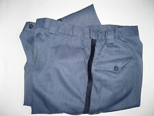 Vtg Ladies Winter USPS Postal Blue Uniform Pants Mail Letter Carrier USA Sz 24