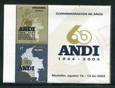Colombia 1229a-b, MNH, National Association of Contractors 2004. x29860