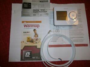 Warmup Tempo digital Thermostat für Fussbodenheizung mit Fernfühler