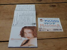 "MADONNA - CHERISH !!!!!!!!!!  RARE JAPANESE CD 3"" / 3 INCHES!!!!!!!!!!!"