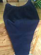 East German Uniform Navy Officers Trousers Waist 32 Inches Marked g48
