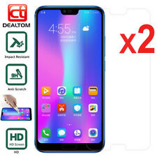 2 Tempered Glass Screen Protector For Huawei P20 Pro/Lite P10 P9 P8 Honor 8 9 10