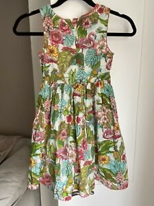 Girls Monsoon Floral Dress Age 7 Years