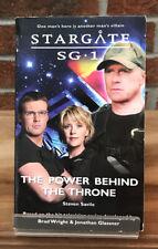 Stargate Sg-1 : The Power Behind The Throne Steven Savile Paperback Book #15