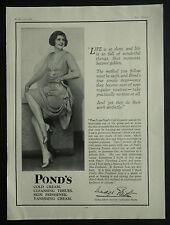 Leah Madeleine Madge Elliott Ritchard Pond's Beauty Cream 1929 Ad Advertisement