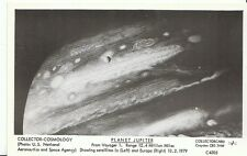 Cosmology Postcard - Planet Jupiter - From Voyager 1 - Showing Satellites U759
