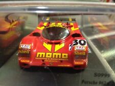 Spark model 1/43 MOMO Porsche 962 #230 Le Mans 1990 New In Box