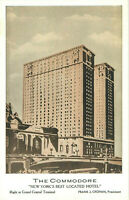 Postcard The Commodore Hotel, New York, NY