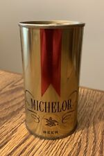 12oz Michelob Beer Can (Embossed) - Steel Pull Tab Bo