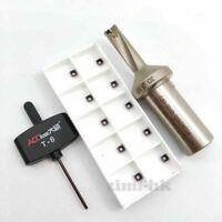 SO-10-33-3D-C20 U Drill 33mm-3D indexable drill bit C20-33-3D +10pcs SOMT040202