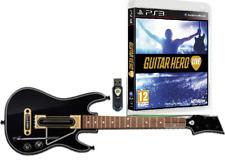 Guitar Hero Live PS3 Juego Controlador Inalámbrico Dongle USB correa para el Hombro PS 3