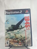 Strikers 1945 1 & 2 The Arcade Games PS2 Complete with Manual CIB PAL