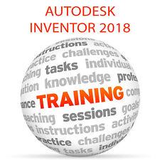 Autodesk INVENTOR 2018 - Video Training Tutorial DVD