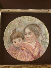 Sayuri & Child - Edna Hibel Collectors Plate - with Original Packaging #9085