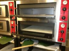 PIZZA OVEN DOUBLE 2 DECK STONE ,
