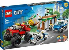 LEGO 60245 Police Monster Truck Heist Building Set - Brand New & Sealed ✅