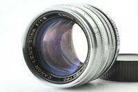 [ EXC Canon 50mm F/1.8 Leica Vis Support L39 Ltm Argent de Japon