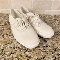 Womens Keds Kate Spade White Sneakers Size 11 Wedding Bride