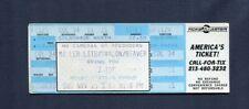 1990 Zz Top Jeff Healey unused concert ticket Los Angeles Ca Recycler Tour