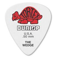 Dunlop 424P50 Tortex The Wedge Picks (12-Pack) - .50mm