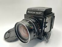 [ Near Mint ] MAMIYA RB67 Pro SD + SEKOR C 65mm f/4.5 120 Film Back From JAPAN