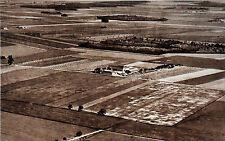 Vue AÉRIENNE de la CAMPAGNE près de BRETIGNY-SUR-ORGE en 1935 - Cliché numéroté