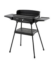 Electric Table Grill Stand 2200W Indoor/Outdoor BBQ Adjustable Thermostat