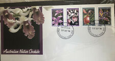 Australia Scott # 997-00 Orchids First Day Cover