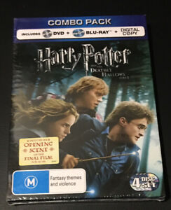 Harry Potter And The Deathly Hallows : Part 1 (Blu-ray 2011 2-Disc Set)Brand New