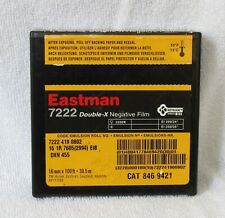 KODAK Eastman 7222 Double-X negative Black & White roll Film 16mm 100 ft 30,5 m.