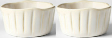 (Pack of 2) Cravings by Chrissy Teigen 6.5oz Stoneware Ramekin White